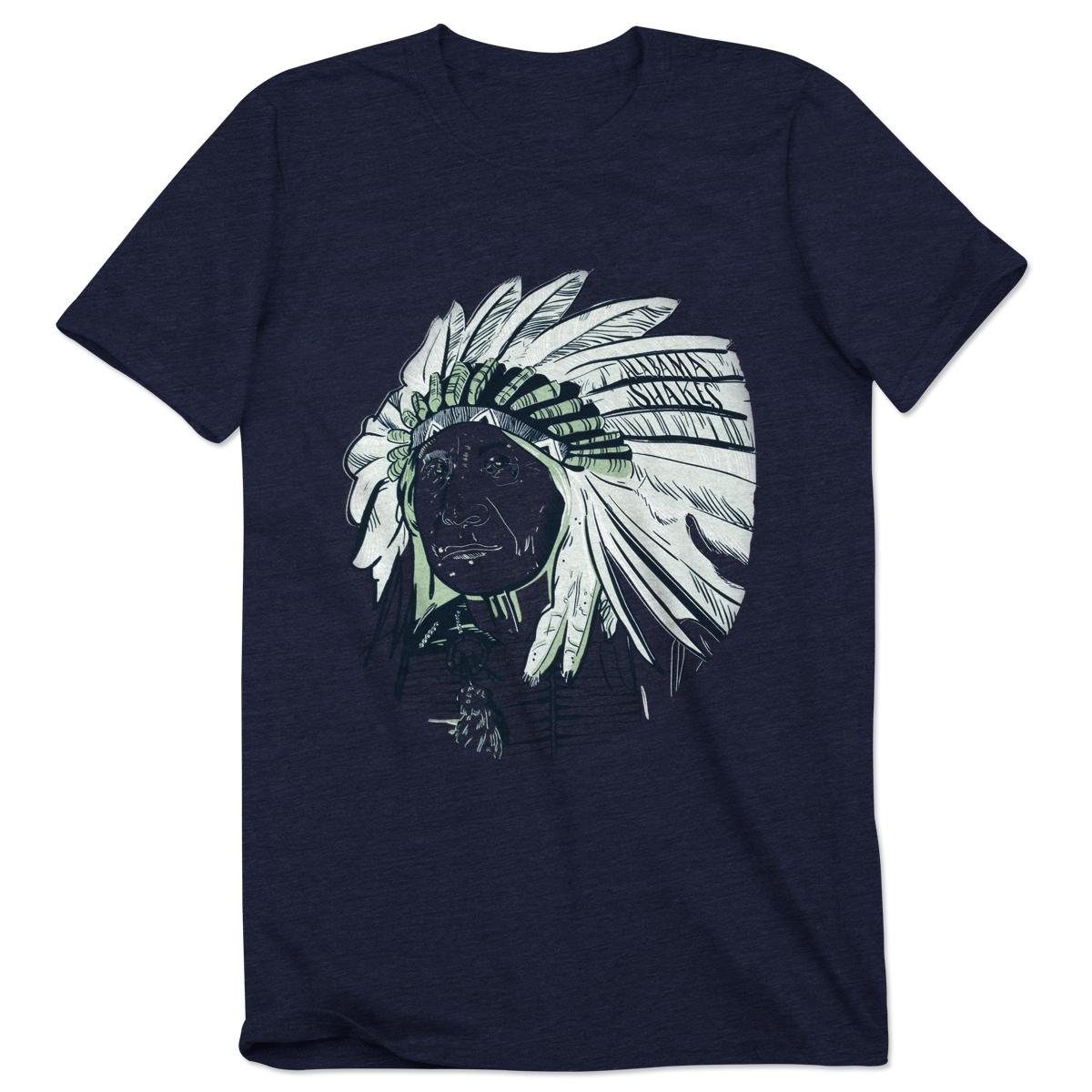 Alabama Shakes Indian Head T-Shirt
