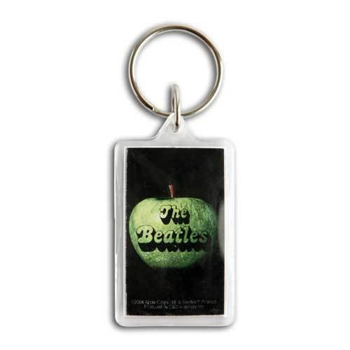The Beatles Apple Logo Keychain