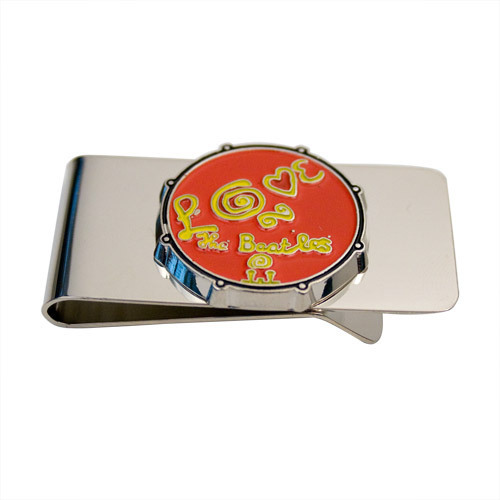 The Beatles Love Drum Money Clip - Red
