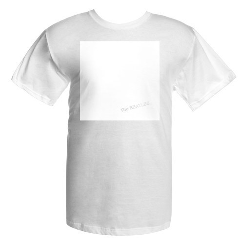 The Beatles White Album Cover Shirt