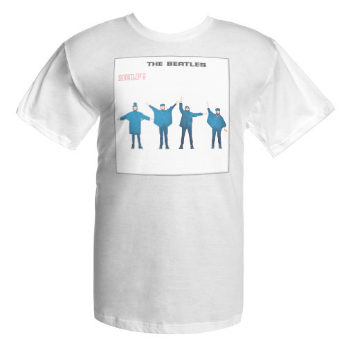 The Beatles HELP! Album Cover Shirt