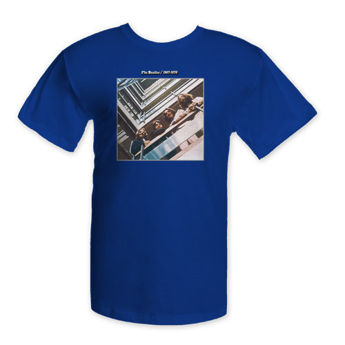 The Beatles Blue Album Cover Shirt