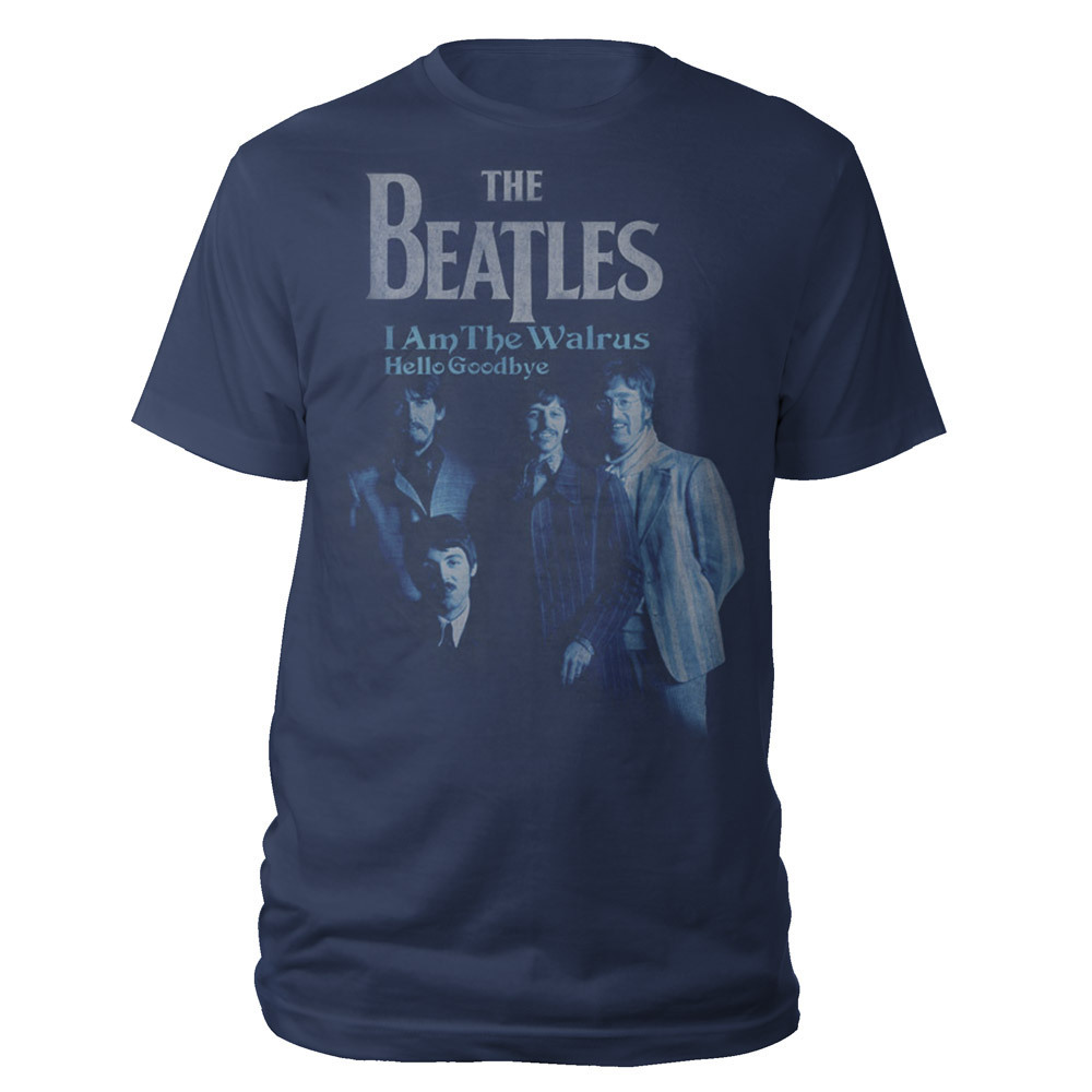 The Beatles Hello Goodbye Single Cover Women's Shirt
