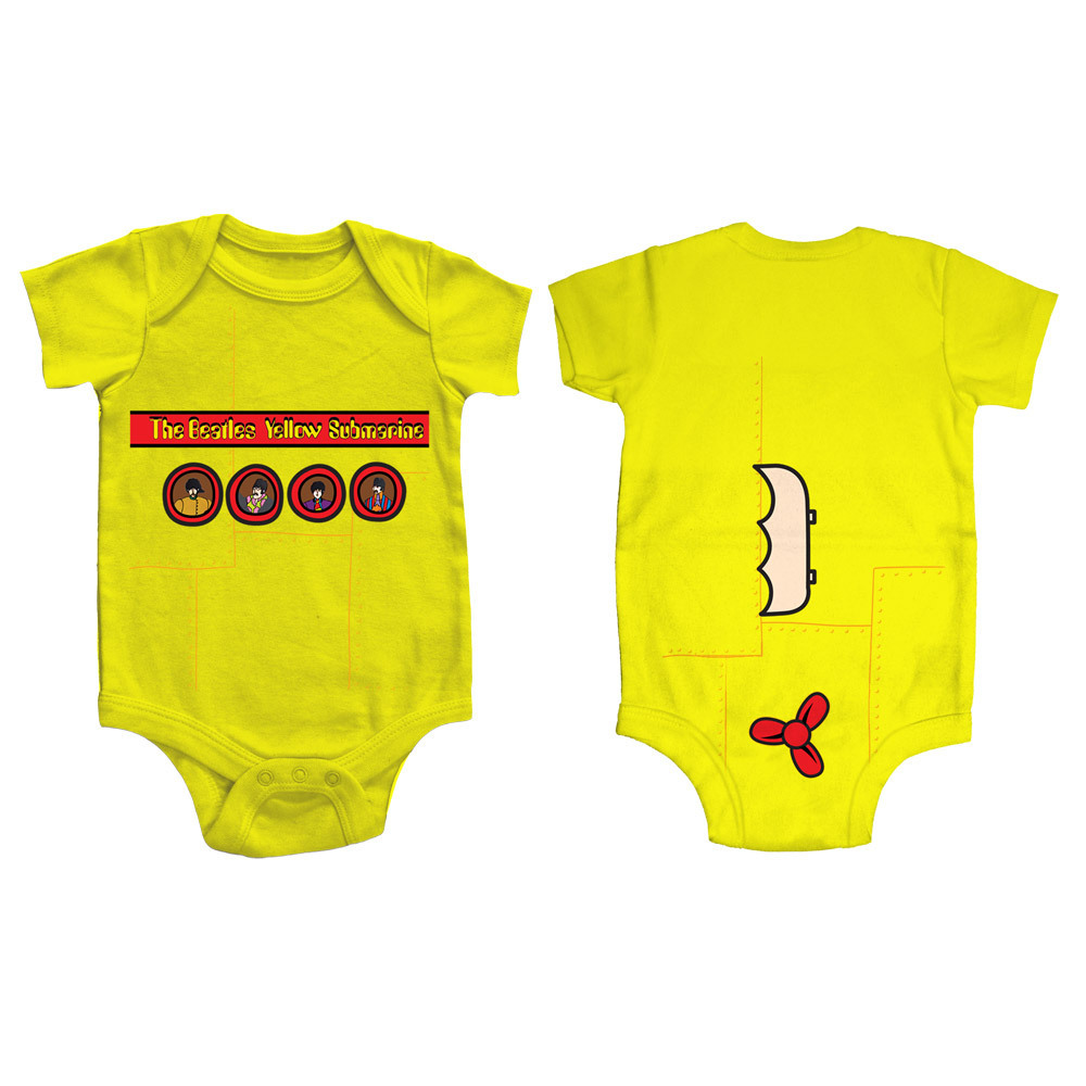 The Beatles Yellow Submarine Portholes Onesie