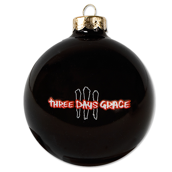 Three Days Grace Christmas Ornament