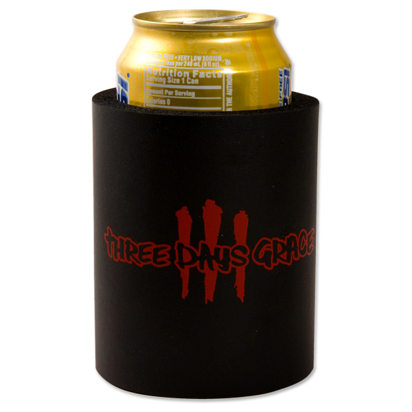 Three Days Grace Slash Logo Koozie