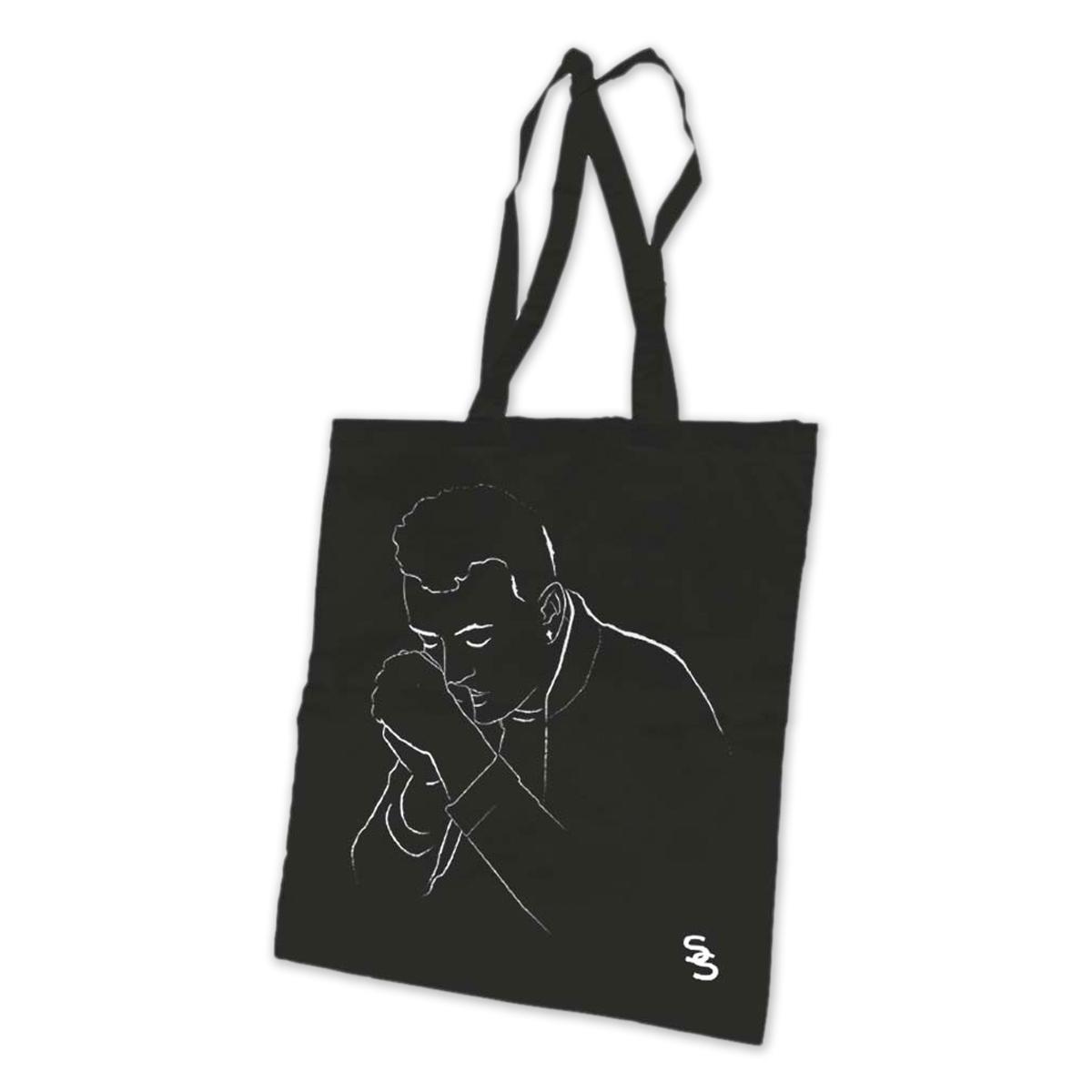 Sam Smith Portrait Tote Bag