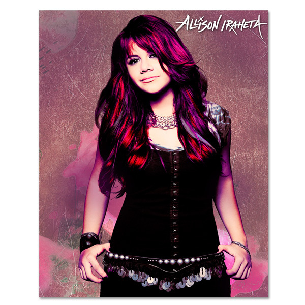 Allison Iraheta 8x10 Photo