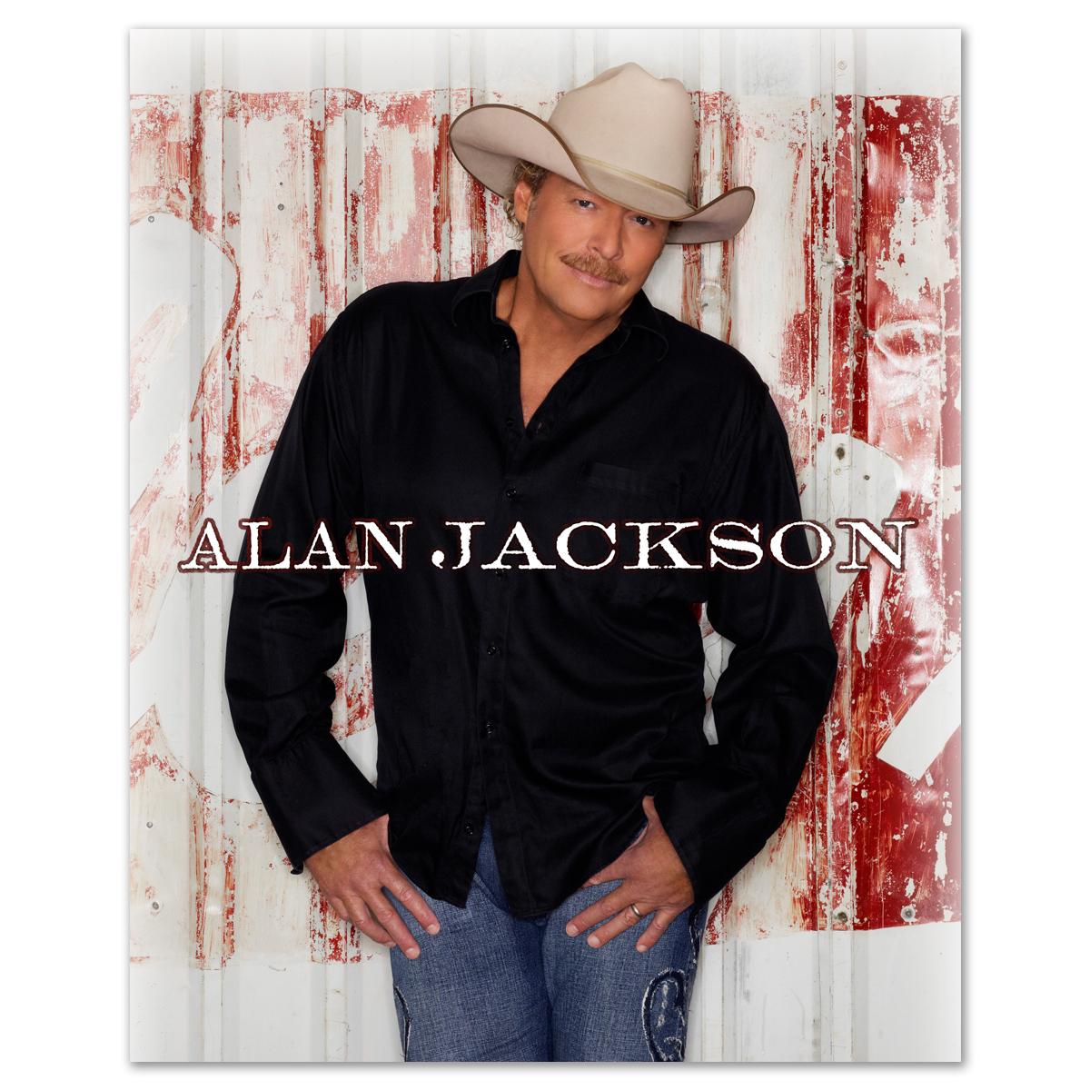 Alan jackson 8x10 photo shop the bravado superstore official store