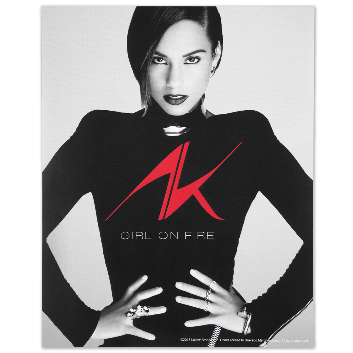 Alicia Keys 8X10 Tour Photo
