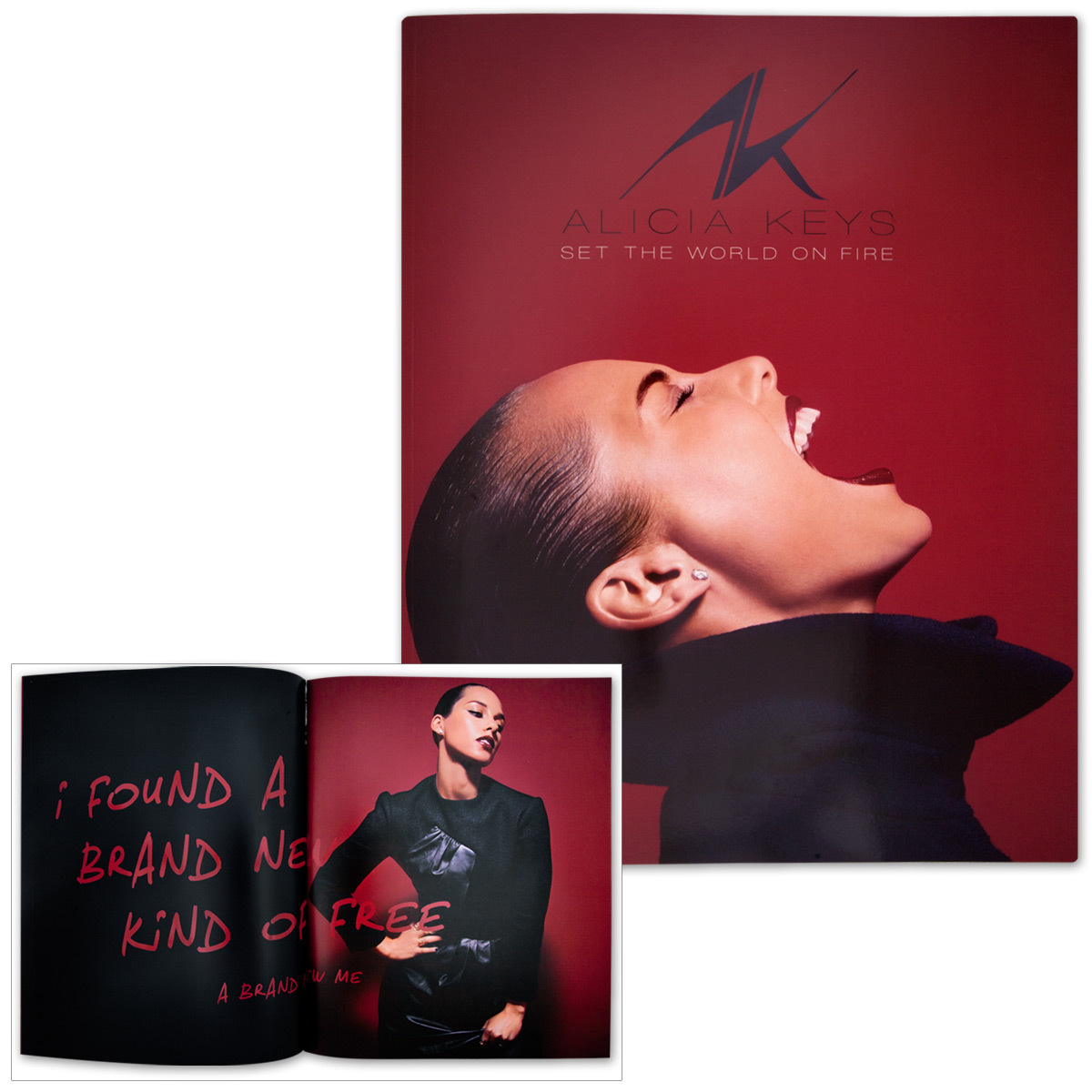 Alicia Keys Soft Cover Program