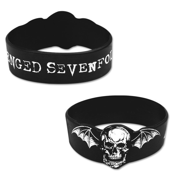 Avenged Sevenfold Deathbat Silicon Bracelet
