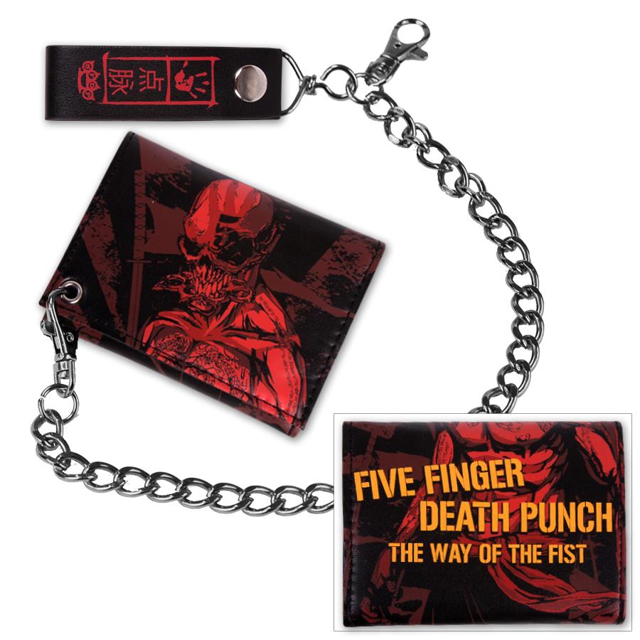 Five Finger Death Punch Red Ninja Wallet