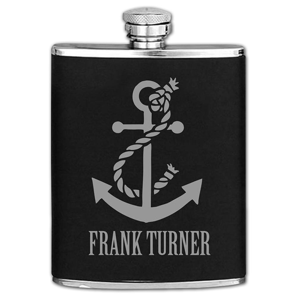 Frank Turner Anchor Hip Flask