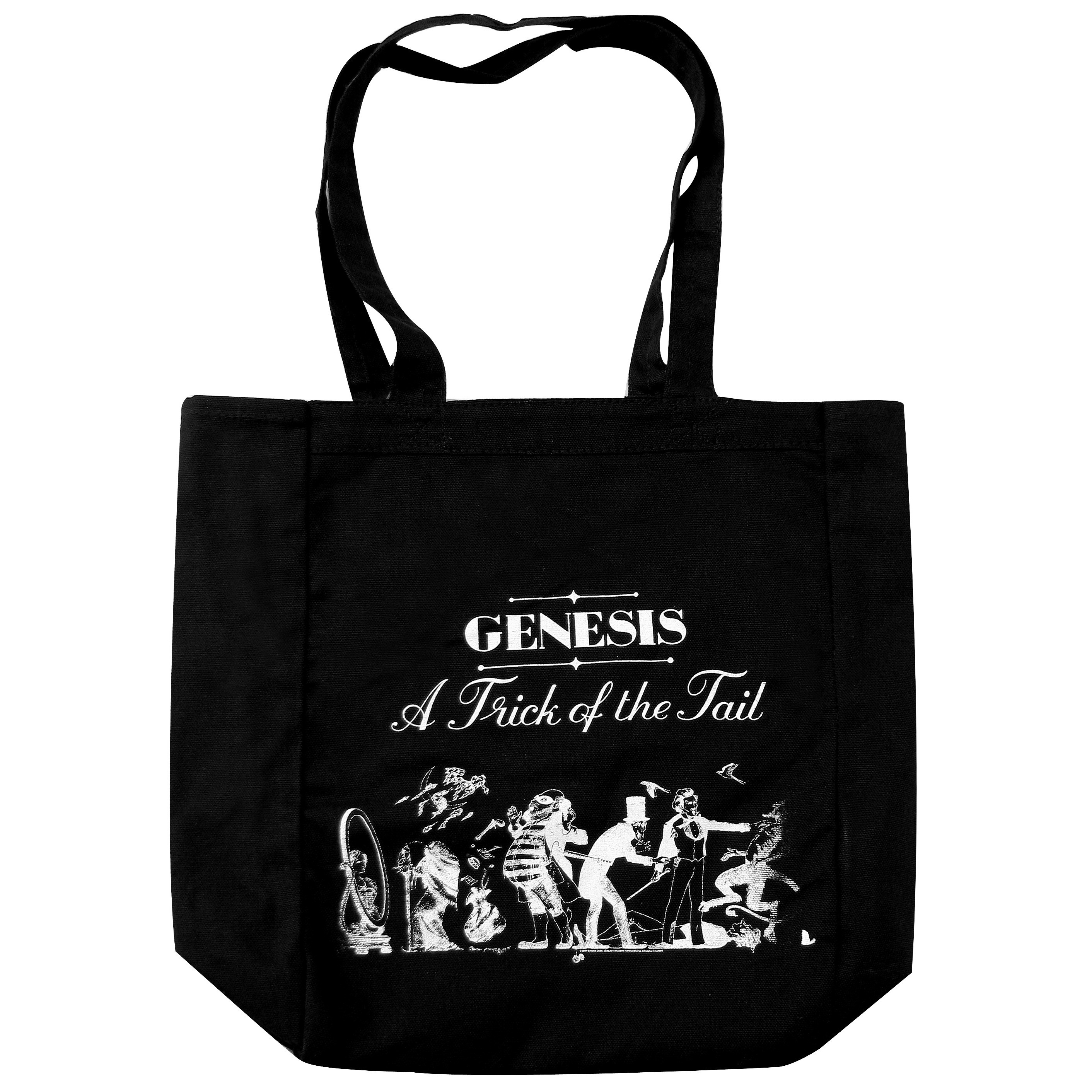 Genesis Black Tote Bag