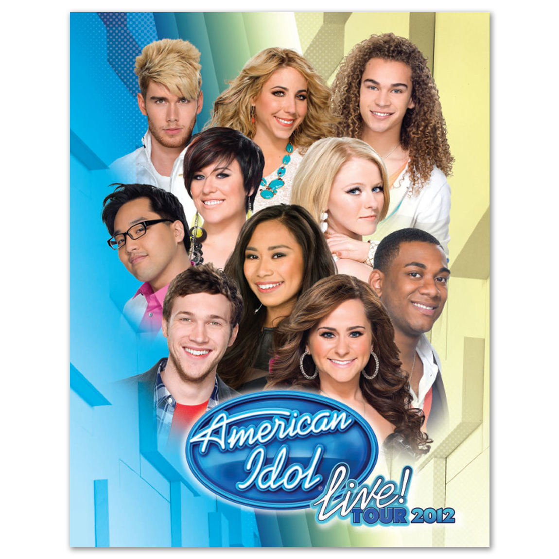 American Idol Live 2012 Tour Program