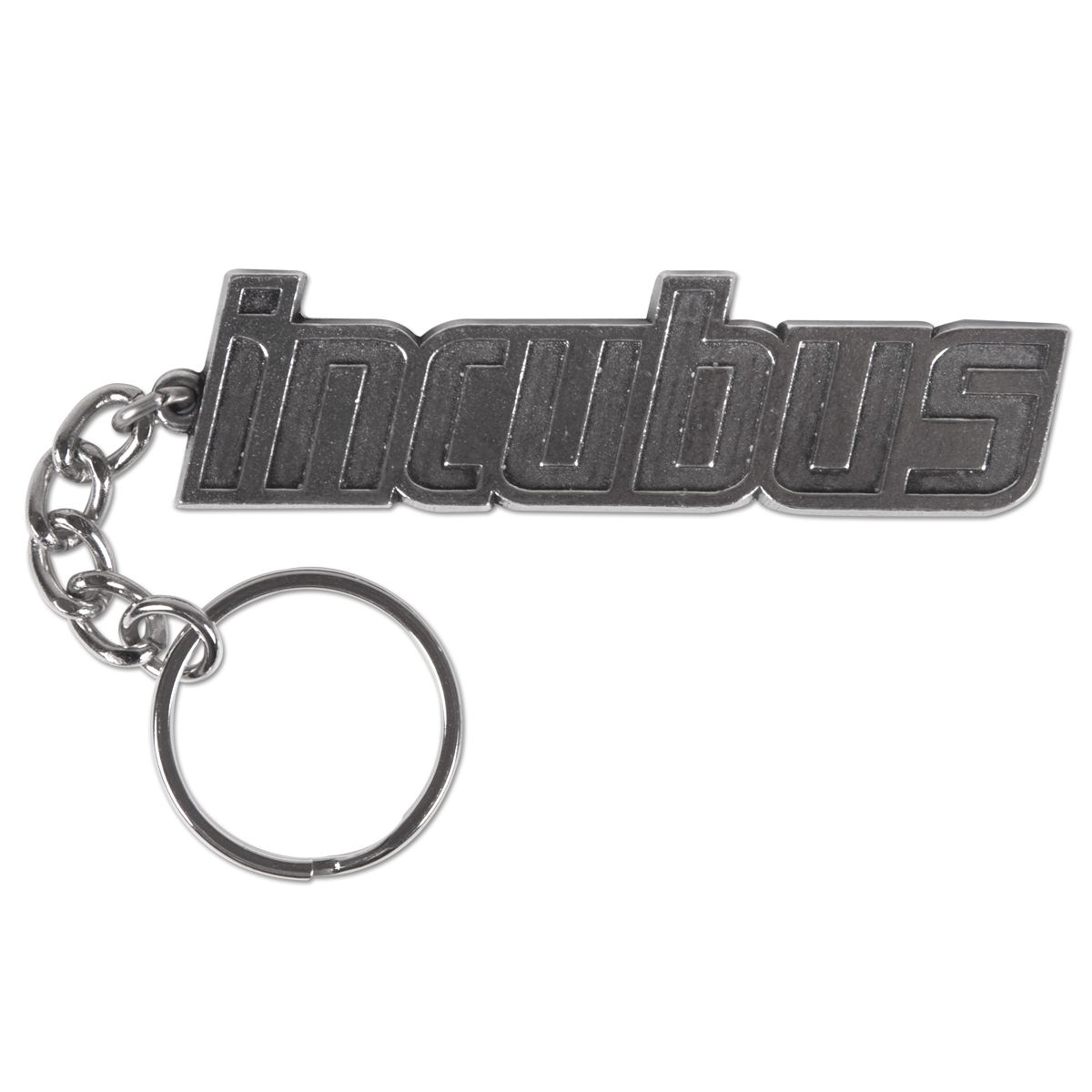 Incubus Logo Metal Keychain