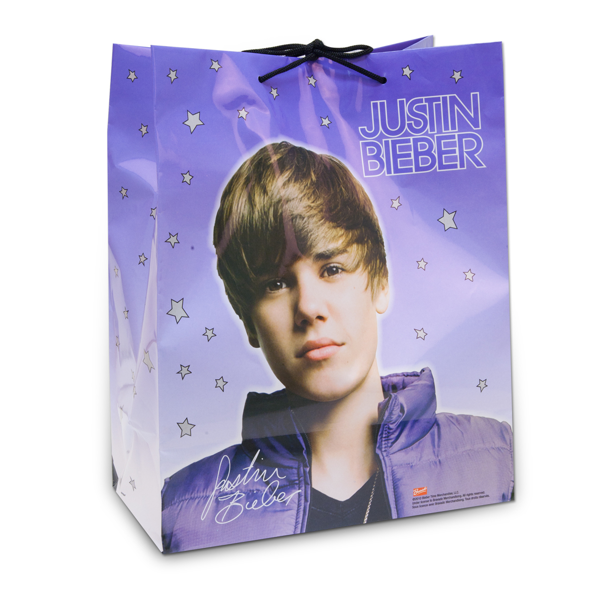 Justin Bieber Glossy Gift Bag - Large