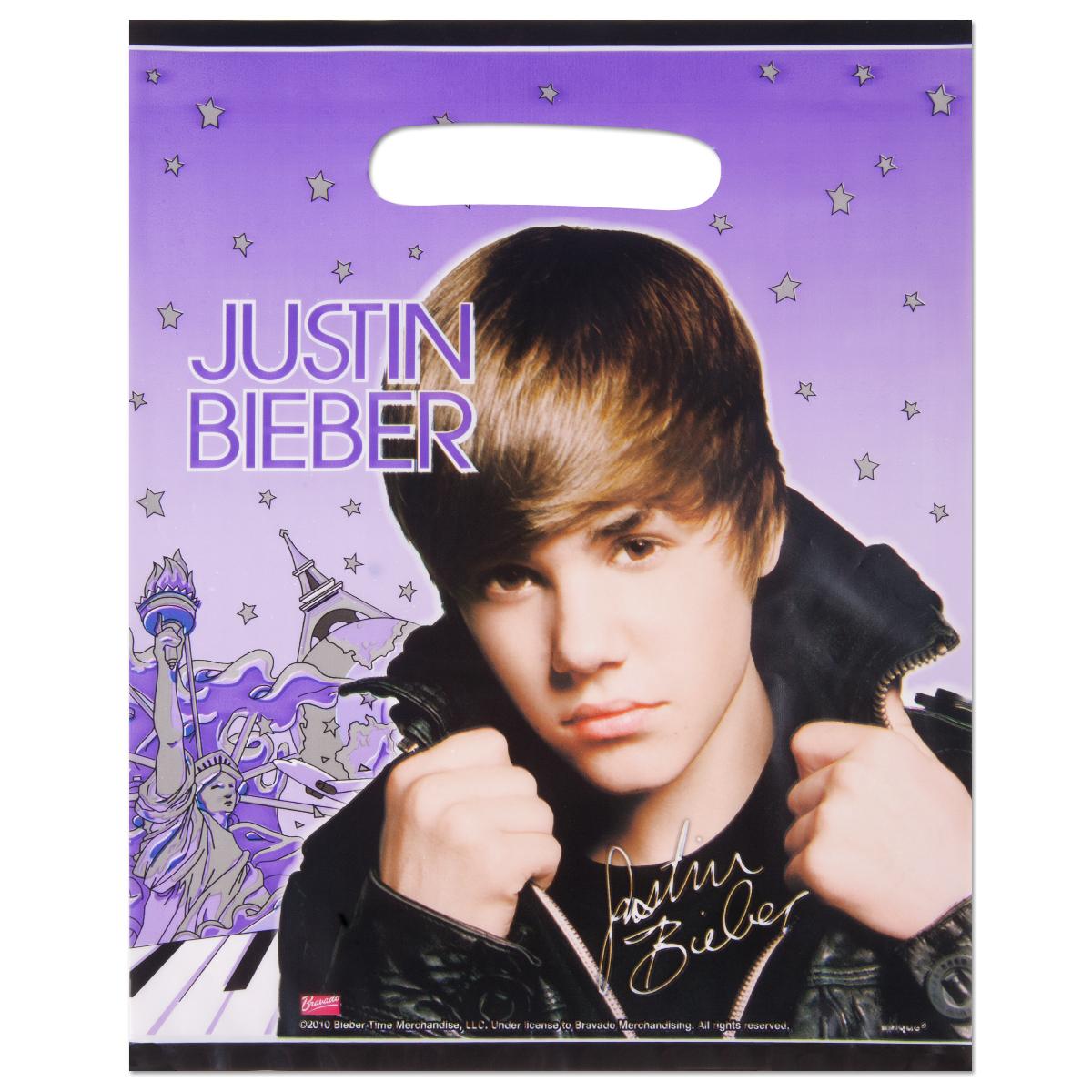 Justin Bieber Loot Bags