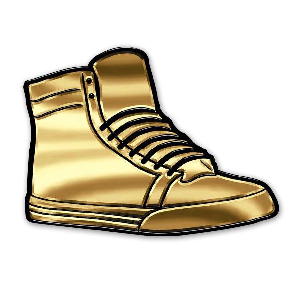 Justin Bieber Sneaker Pin