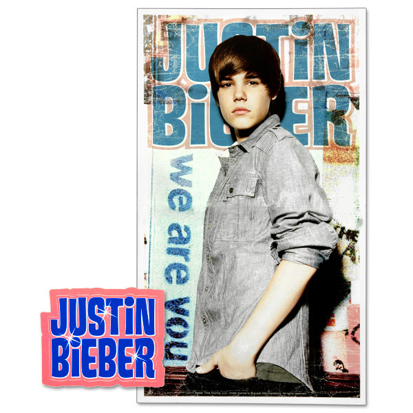 Justin Bieber Locker Poster and Sticker Pack