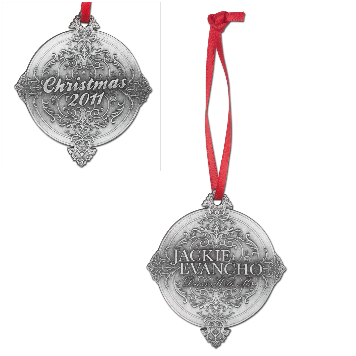 Jackie Evancho 2011 Christmas Ornament