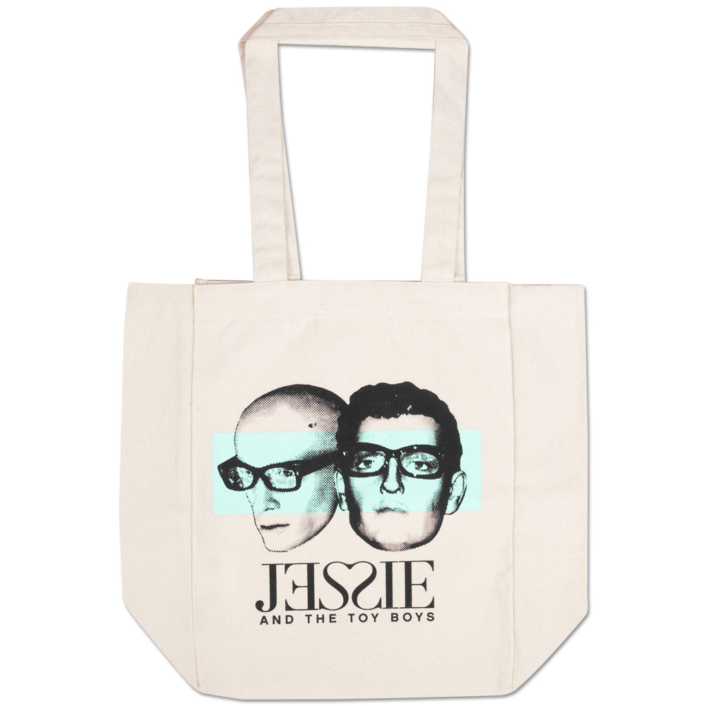 Jessie and the Toy Boys Mannequin Heads Tote Bag