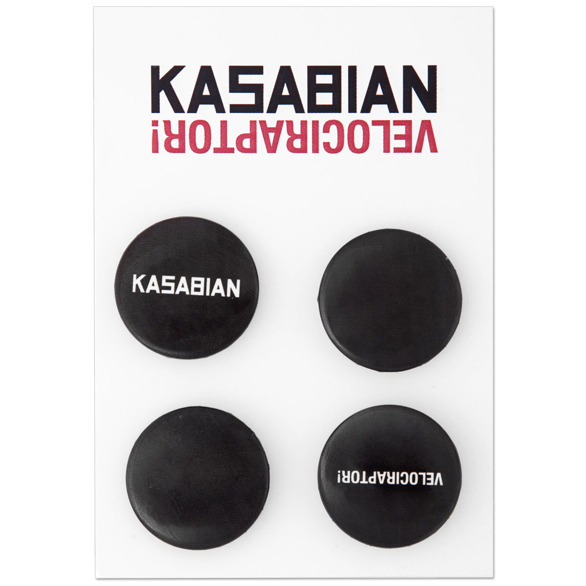 Kasabian Pin Badge Set