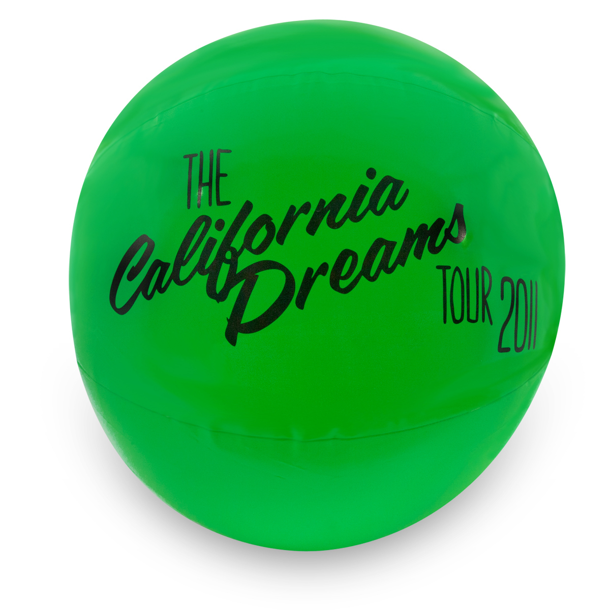 Katy Perry Green Beach Ball