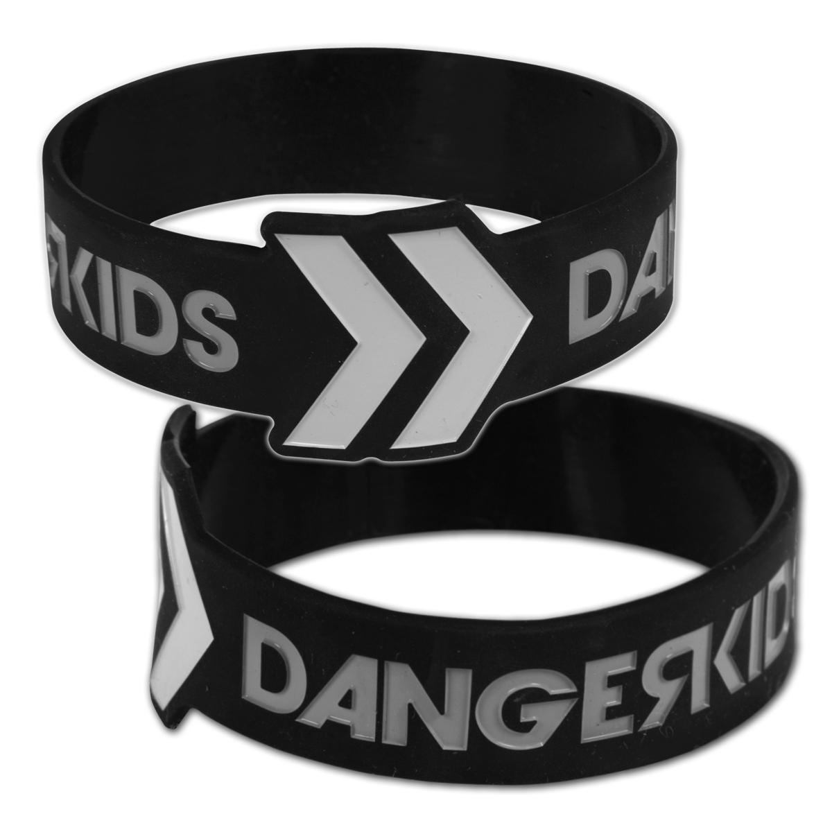 Dangerkids Logo Rubber Bracelet