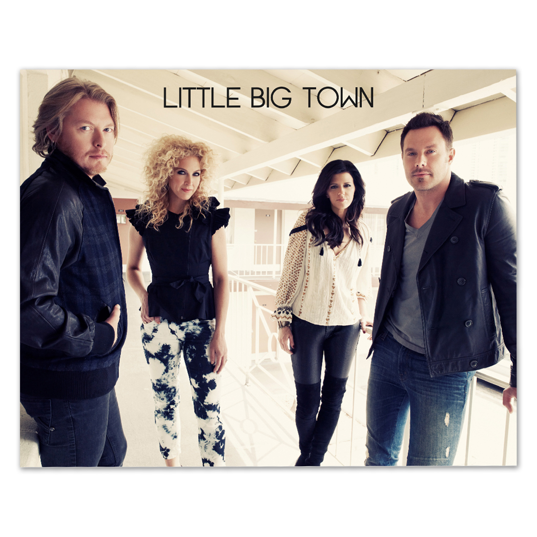Little Big Town Landscape 8x10 Photo