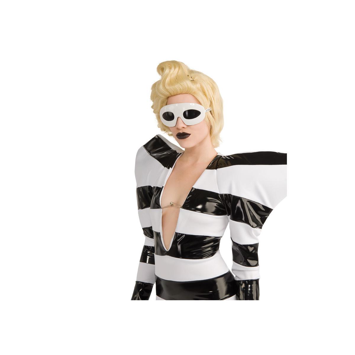 Lady Gaga Glasses - White
