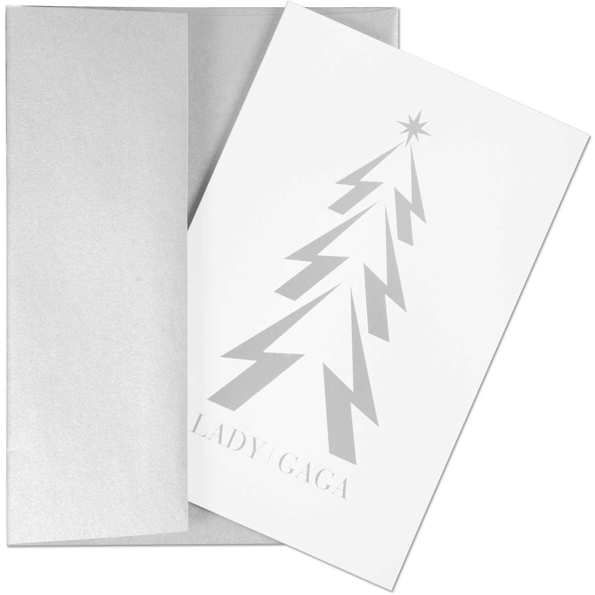 Lady Gaga Christmas Card Set