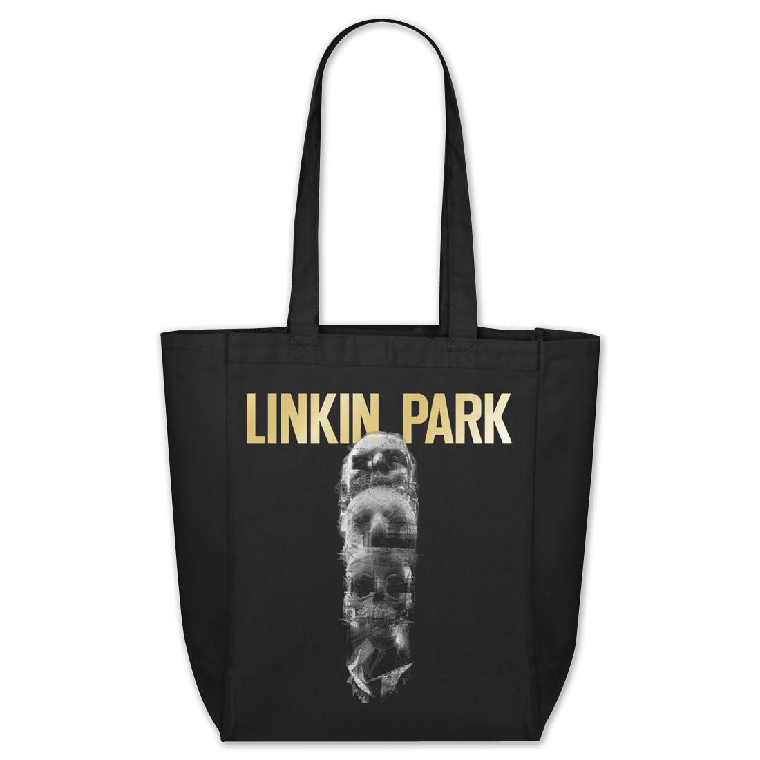 Linkin Park Skull Totem Tote