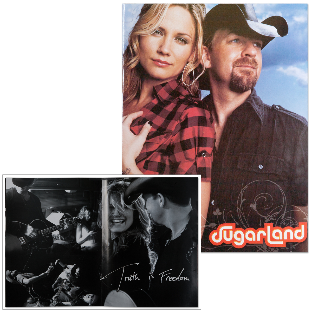 Sugarland Kristian & Jennifer Tour Book