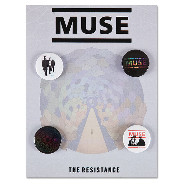 Muse Resistance Button Pack