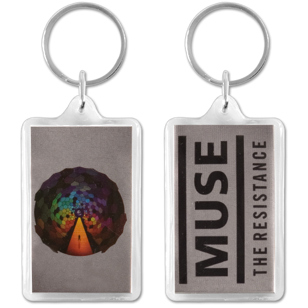 Muse Plastic Resistance Keychain
