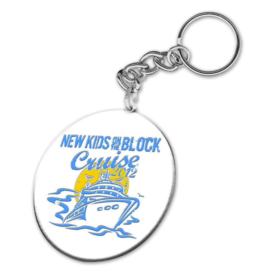 New Kids on the Block 2012 Cruise Keychain