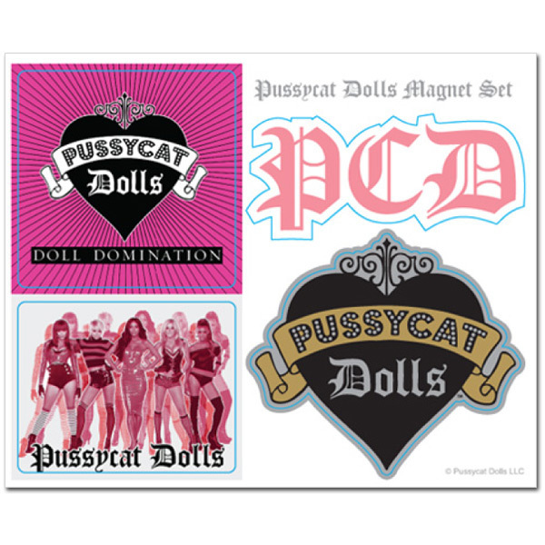 Pussycat Dolls Magnet Set