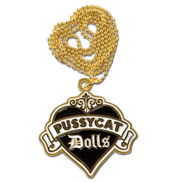 Pussycat Dolls Logo Necklace