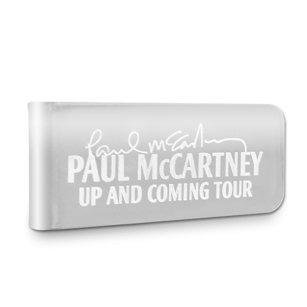 Paul McCartney Up & Coming Small Money Clip
