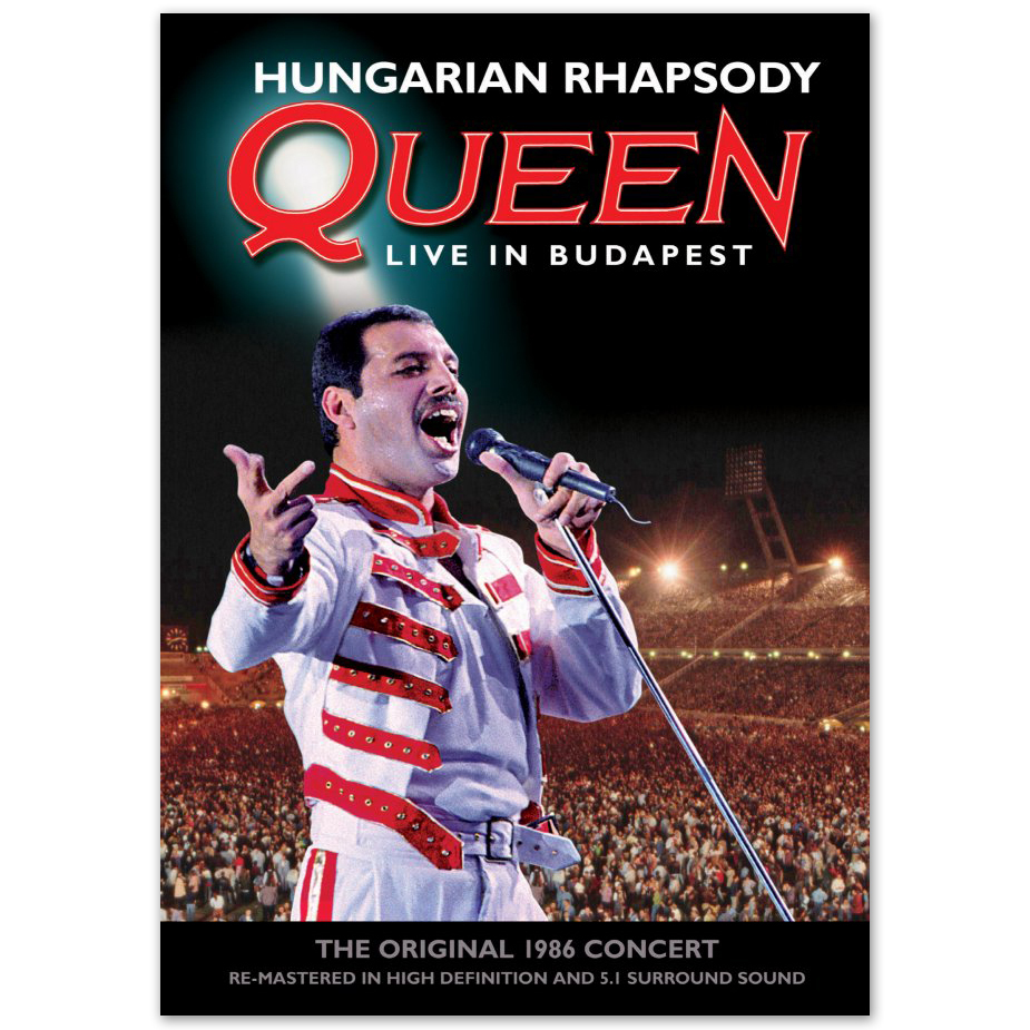 Queen Hungarian Rhapsody: Queen Live In Budapest Deluxe DVD/ 2CD