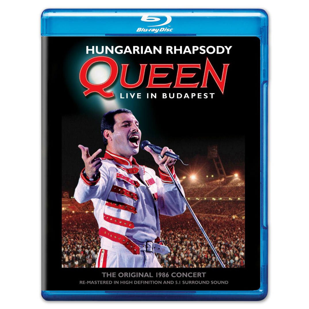 Queen Hungarian Rhapsody: Queen Live In Budapest Standard Blu-Ray