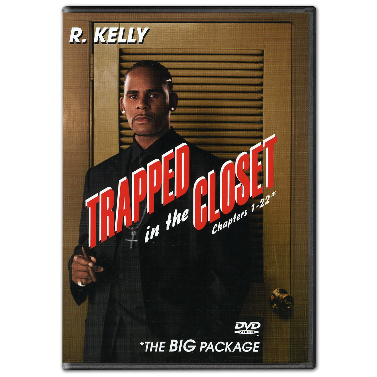 R Kelly Trapped In The Closet Chapters 1 22 Dvd Musictoday Superstore