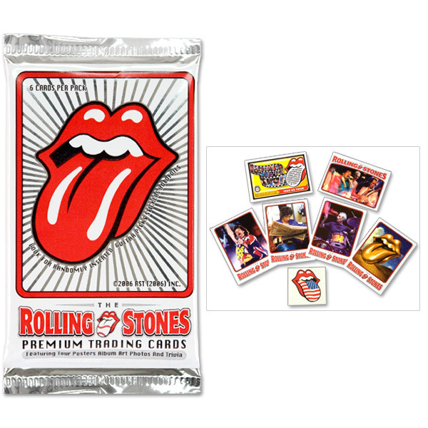 Rolling Stones Premium Trading Card - Individual Pack