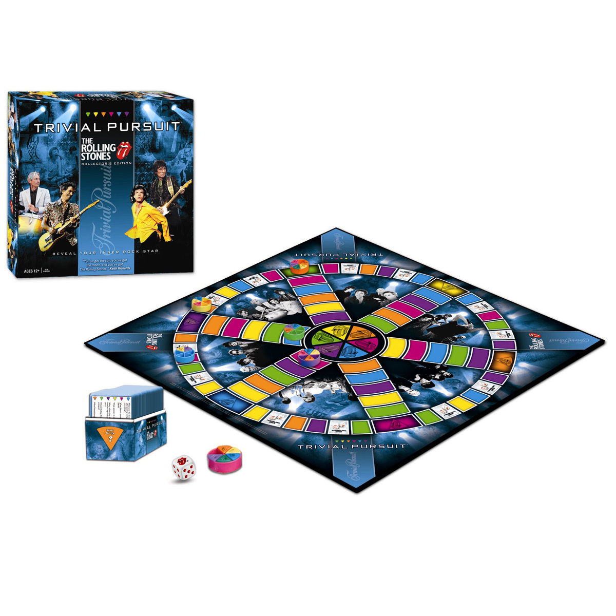 TRIVIAL PURSUIT: The Rolling Stones Collector's Edition