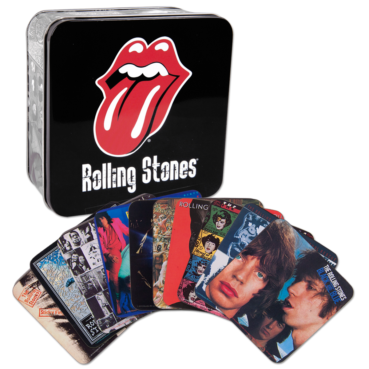 Rolling Stones 10 Coaster Box