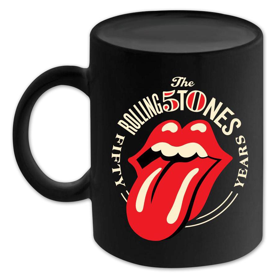 Rolling Stones 50th Anniversary Logo Mug