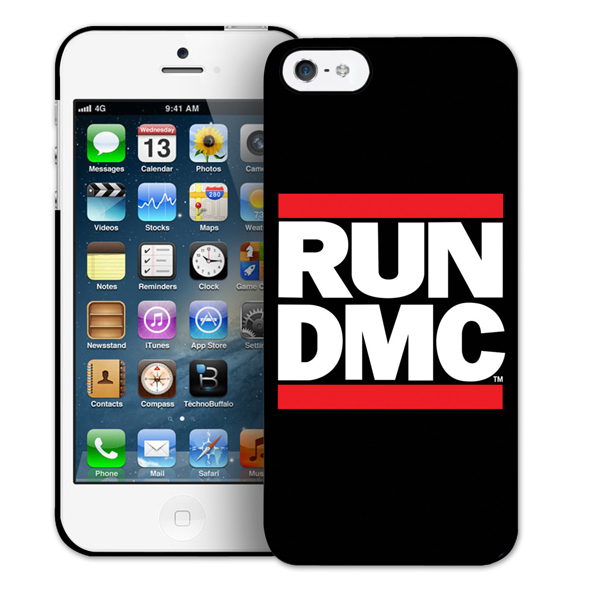 Run-DMC Logo iPhone 5 & 5s Cover