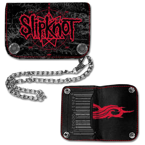 Slipknot Star Logo Hinge Wallet